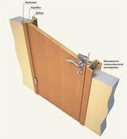 Профессиональная установка межкомнатных дверей и порталов